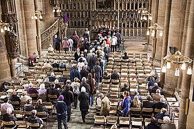 Gottesdienst in der Elisabethkirche
